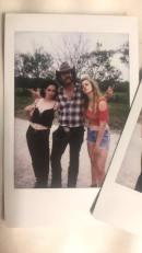 "Sophie Howell, Clint James, and Elise Berggreen on the set of ""Trailer Park Shark"""